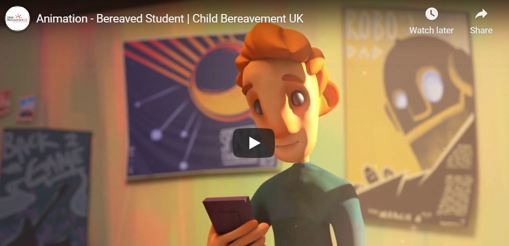 Animated film - bereaved student