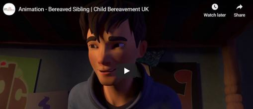 Animated film - bereaved sibling