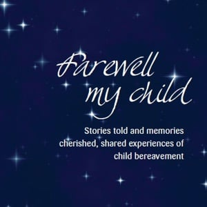 Farewell My Child book