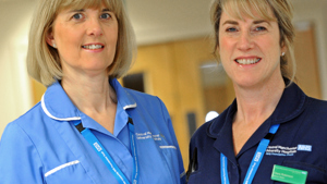 Catherine Rylance and Clare Robinson, Neonatal Bereavement Support Sisters, St Mary's Hospital, Manchester
