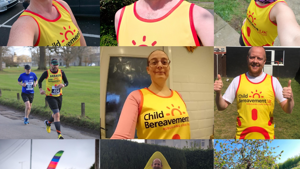Virtual London Marathon 2020 Team